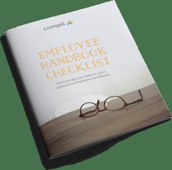 Employee Handbook Checklist cover - transparent