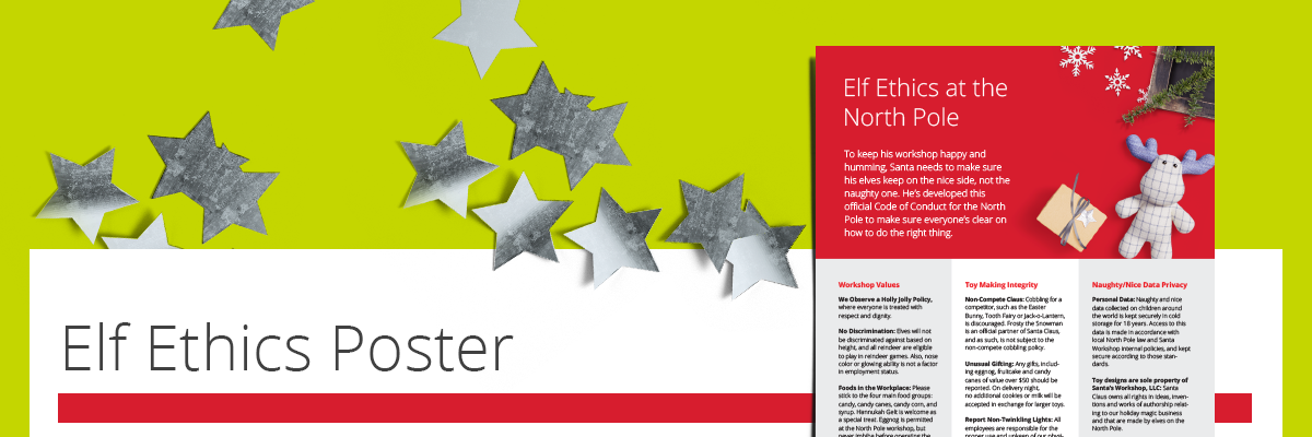 Download the Elf Ethics Poster